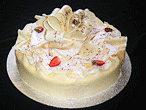 Dame Blanche cake
